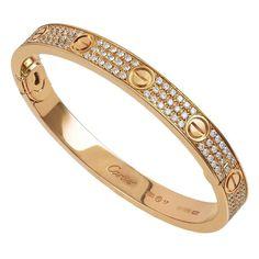 WOW cartier diamond bracelets are beautiful Image# 1112741526 Cartier Diamond Bracelet, Cartier Jewelry, Diamond Bangle, Diamond Necklaces, Diamond Jewelry, Diamond Rings, Gold Jewelry, Love Bracelets, Bangle Bracelets