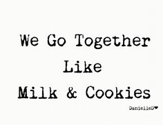 . Milk Cookies, Yummy Cookies, Words Quotes, Me Quotes, We Go Together Like, Winter Treats, Delicious Cookie Recipes, Food Themes, Culinary Arts