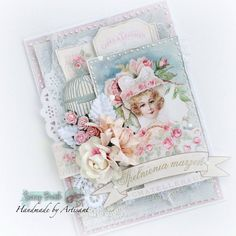 "Artisant: ""French Romance"" card + tutorial"