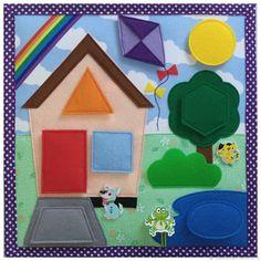 Kindergarten Syllabus, Silent Book, Quiet Book Templates, Cute Little Things, Paper Flowers Diy, Busy Book, Quiet Books, Preschool, Diy Crafts