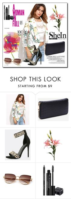 """shein 9"" by aida-1999 ❤ liked on Polyvore featuring La Femme, KAROLINA and Rodial"