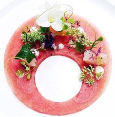 Rockshrimp feta and watermelon salad @liquemiami