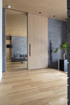 Movable Walls, Modern Kitchen Interiors, Mountain Modern, Modern Chandelier, Ideal Home, Tile Design, Home Renovation, House Design, Doors