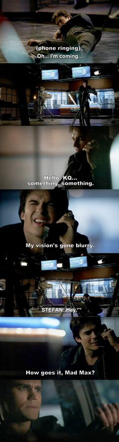 The Vampire Diaries TVD 7X16 - Damon and Stefan