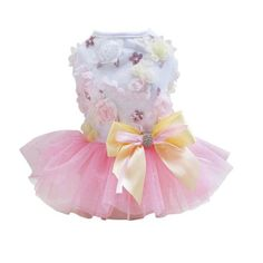 Dress With Bow And Tutu, Sizes XS - XL - 3 Colors – Duffy Stuff