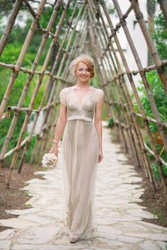 """""""a Great Gatsby bride at Alys Beach"""" Goode & Green Photography"""
