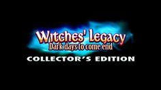 Download: http://www.bigfishgames.com/games/11535/witches-legacy-dark-days-to-come-ce/?channel=affiliates&identifier=af5dc3355635 Witches' Legacy 8: Dark Days to Come Collector's Edition PC Game, Hidden Object Games. Stop the dark witches before they regain their power! Ice twins had kidnapped your beloved Anabel and you will have to follow them to the magical realm to save her! Download Witches' Legacy 8: Dark Days to Come Collector's Edition Game for PC for free!