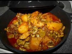 Gourganes, patates, tomate, persil