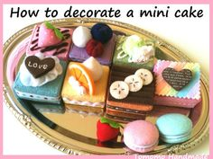 ETSY Pretend food Play food Felt food How to by TomomoHandmade, $42.00
