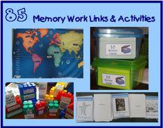85 links & activities for practicing memory work.