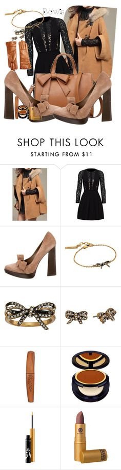 """Bows"" by marionmeyer ❤ liked on Polyvore featuring Blumarine, Marni, Marc Jacobs, Rimmel, Estée Lauder, MAC Cosmetics, Lipstick Queen, Saks Fifth Avenue Collection and bows"