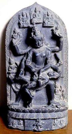 sculpture of Nrsimha, Dhaka Museum