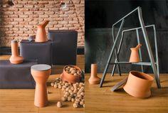 BENJAMIN HUBERT - DISEÑADOR Pots // Interior Styling: Maria Cristina Alipaz y Juan Sancho // Photography: Manuel Prats