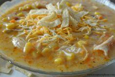 Chicken Chipotle Corn Chowder