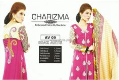 Charizma Winter Collection 2012 Volume 2 Pictures