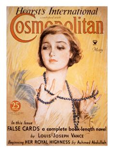 Cosmopolitan cover illustrated by Harrison Fisher