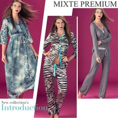 Welcome Autumn! Mixte Premium's Fall introduction. #mixte #mixtepijamas #lindaemcasa #pijamas #modaintima #fallwinter2015 #inverno2015 #conforto #mulher #woman