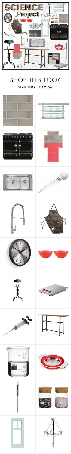 """Science Project"" by ditzglitz ❤ liked on Polyvore featuring interior, interiors, interior design, home, home decor, interior decorating, Rösle, Williams-Sonoma, Gandía Blasco and Newgate"