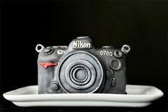 Camera cake ! <3