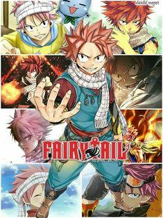 Natsu Dragnir - Chasseur de Dragon de Feu - Fairy Tail / Natsu Dragneel - Fire Dragon Slayer - Fairy Tail