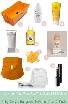 Top 9 New Baby Essentials pt.1 (Bath and Care)