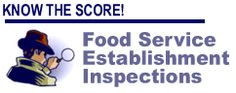 Search St. Charles County Food Establishments health scores