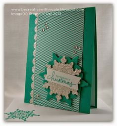 Be Creative with Nicole: Festive Flurry for Try Stampin' On Tuesday #145