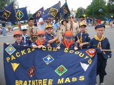 cub scout parade banners | ... and no drop outs. Lets give them a big Cub Scout cheer and salute