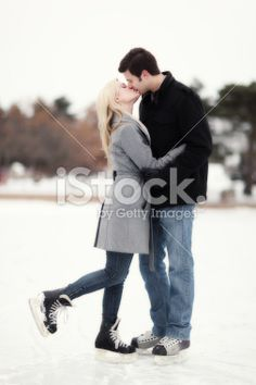 couples photo shoot ice skating - Google Search