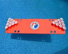 Travel Sized Foam Beer Pong Table. Skips Garage's pong tables are the only ones to be 100% guaranteed to never deflate or spring a leak. Free shipping. Order yours at www.skipsgarage.com