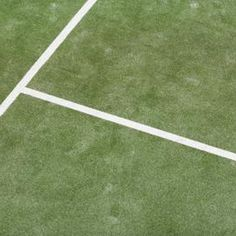 Synthetic grass tennis courts offer easy upkeep and all-weather play.   tennishowtoplay Bocce b9423fb02d7cd