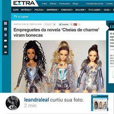 """BONECOS DO BABY: Leandra Leal curtiu sua boneca """"Empreguete"""" by Mar..."""