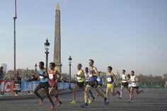 Marathon : des coureurs suréquipés et connectés