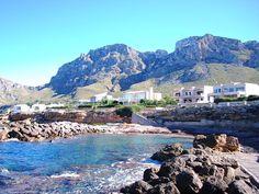 Ferienhäuser Mallorca Norden: Villa in Betlem - Modernes Ferienhaus gegenüber des Meeres