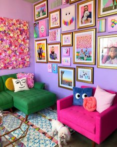 Future Home Interior .Future Home Interior Colourful Living Room, Bright Living Room Decor, Cheap Home Decor, Colorful Interiors, Colorful Interior Design, Interior Modern, House Colors, Room Inspiration, Home Remodeling