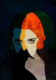 * Bette Davis Art