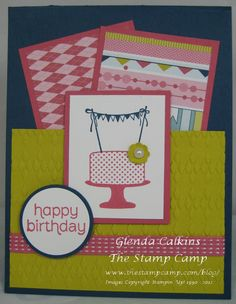 stampin up ideas on pinterest | Pin Stampin' Up Supplies Cake on Pinterest