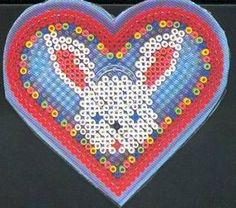 Rabbit hama beads