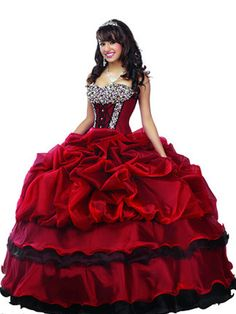 Disney Comes Out With Princess-Inspired Quinceañera Dresses | Latina; Snow White Red Black