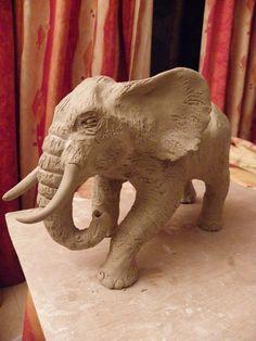 Modelage (avec tutoriel) d' un éléphant