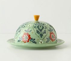 Just purchased this fun butter dish today. My butter never looked so good. Eclectic Tabletop, Anthropologie Wallpaper, Food Now, Cheese Dishes, Cheese Trays, Serving Utensils, Kitchen Supplies, Kitchen Accessories, Mugs