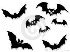 Хэллоуин летучие мыши летающие