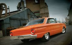 Vintage school of cars, Falcon Esprin 289. 1960 | 1963 Ford Falcon Sprint