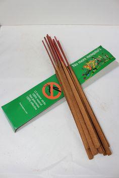 Natuurlijke zuivere muggen wierook uit Thailand, €3.00