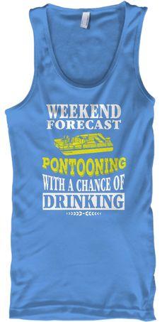 Pontooning with Drinking Pontoon Shirt Boat Shirts, Travel Shirts, Tee Shirts, Pontoon Boat Accessories, T Shirt Reconstruction, Lake Quotes, Bachelorette Shirts, Drinking Shirts, Lake Life