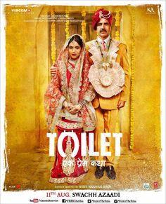 Akshay Kumar Movie 'Toilet-Ek Prem Katha' new posters , Releasing date..