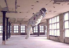 Surreal Astronaut Photos by Bernard Bailly