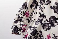 Muesca solapa un solo botón floral de la chaqueta delgada