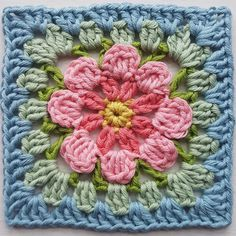 "Lucy Attic24 on Instagram: ""Flora Granny Square in celebration of #grannysquareday2021 Find the FREE pattern on my blog, link in bio x #attic24 #floragrannysquare…"" Crochet Throws, Love Crochet, Free Pattern, Flora, Celebration, Blanket, Knitting, Link, Instagram"