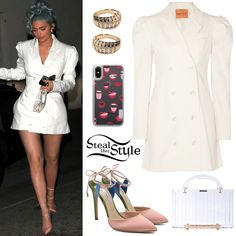 Find out where your favorite celebrities buy their clothes and how you can get their looks for less. Look Kylie Jenner, Kylie Jenner Instagram, Kylie Jenner Outfits, Kardashian Style, Kardashian Fashion, Kardashian Jenner, Leather Bustier, Fashion Outfits, Model Outfits